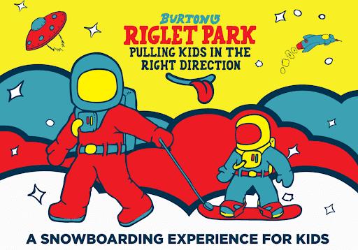 Burton Riglet Snowboarding for 3 to 12 year olds   Grandvalira